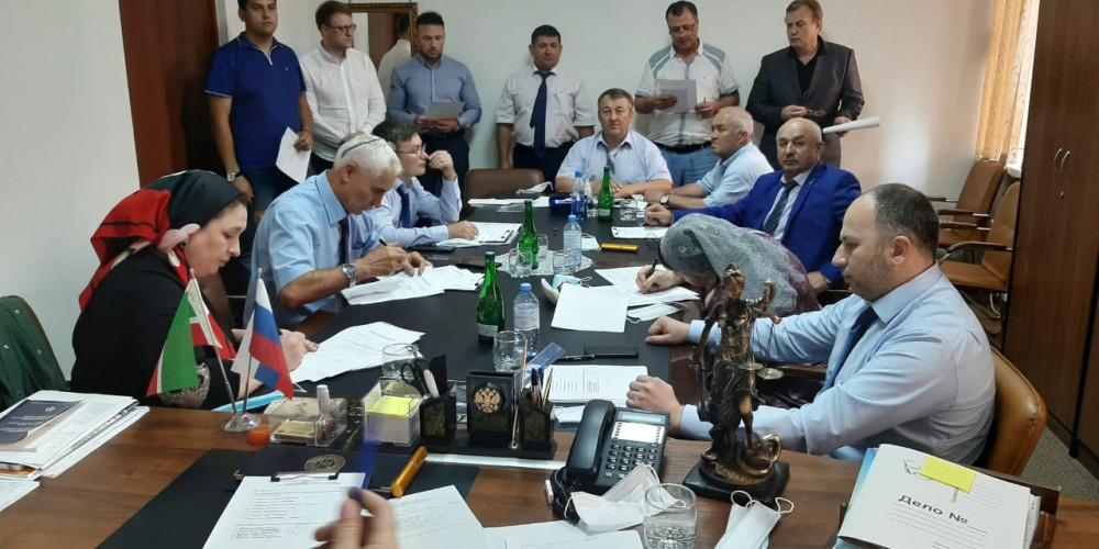 10 июля 2020 года в Адвокатской палате Чеченской Республики состоялось заседание Квалификационной комиссии