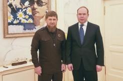 Рамзан Кадыров встретился с руководителем Администрации Президента России Антоном Вайно